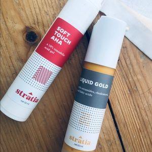 Stratia Liquid Gold and Soft Touch AHA